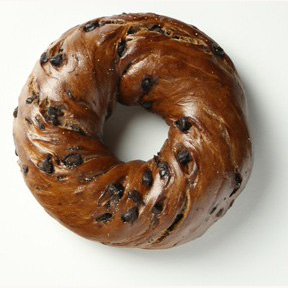 Chocolate Chip Bagel