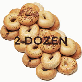 Two Dozen Assorted Bagels